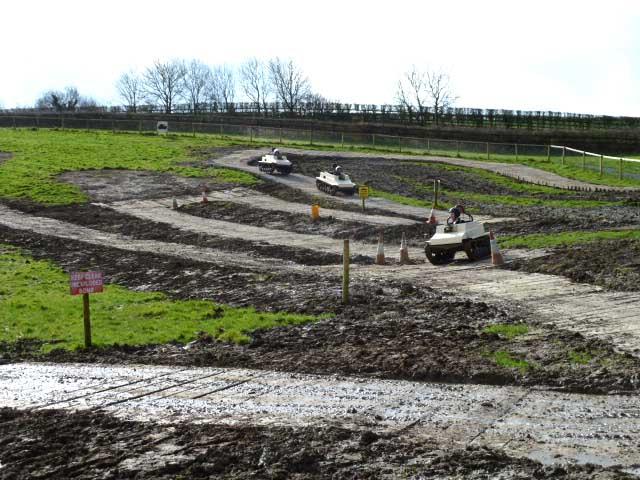 Tank-Race-Course